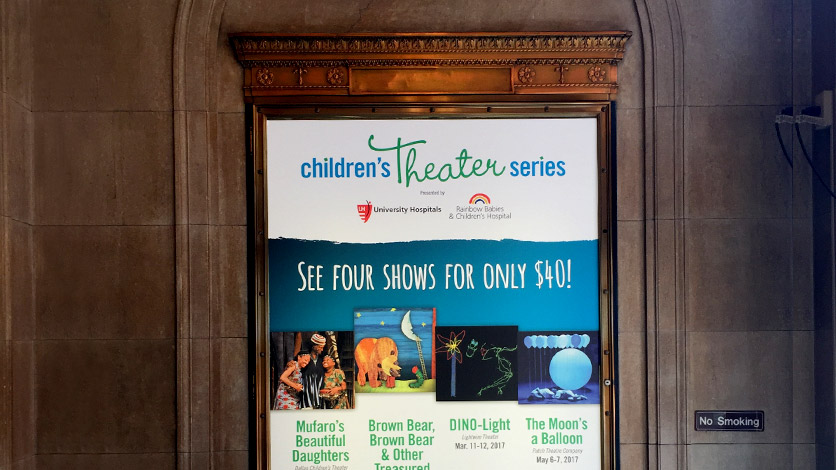 Playhouse Square Children's Theater billboard